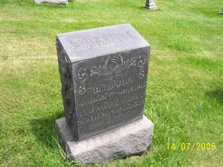 STACKHOUSE, BENJAMIN - Columbiana County, Ohio | BENJAMIN STACKHOUSE - Ohio Gravestone Photos