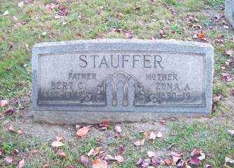 STAUFFER, BERT C. - Columbiana County, Ohio | BERT C. STAUFFER - Ohio Gravestone Photos