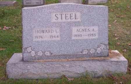 STEEL, AGNES A. - Columbiana County, Ohio | AGNES A. STEEL - Ohio Gravestone Photos