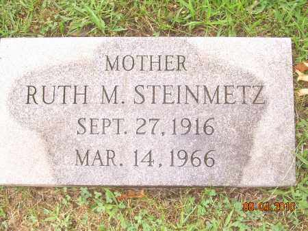 STEINMETZ, RUTH M - Columbiana County, Ohio | RUTH M STEINMETZ - Ohio Gravestone Photos