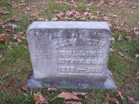STIVASON, ELIZABETH COLLINS - Columbiana County, Ohio | ELIZABETH COLLINS STIVASON - Ohio Gravestone Photos