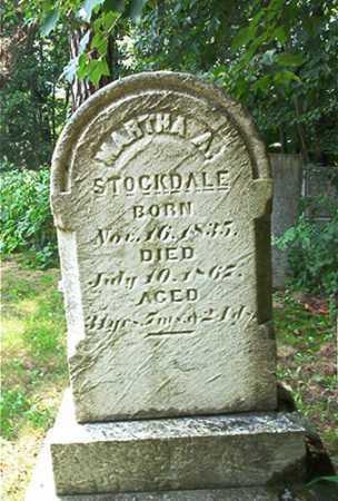 STOCKDALE, MARTHA A. - Columbiana County, Ohio | MARTHA A. STOCKDALE - Ohio Gravestone Photos