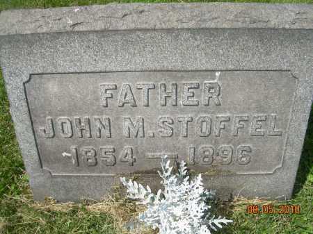 STOFFEL, JOHN M - Columbiana County, Ohio | JOHN M STOFFEL - Ohio Gravestone Photos