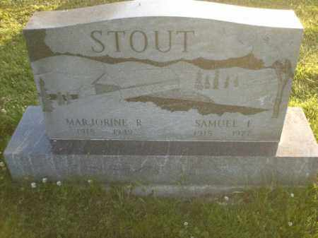 RHOME STOUT, MARJORINE - Columbiana County, Ohio | MARJORINE RHOME STOUT - Ohio Gravestone Photos