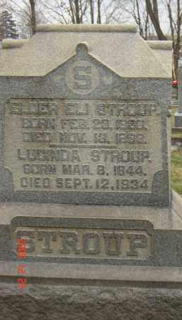 STROUP, ELI - Columbiana County, Ohio | ELI STROUP - Ohio Gravestone Photos
