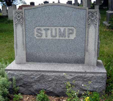STUMP, BENJAMIN & ELIZABETH MONUMENT - Columbiana County, Ohio | BENJAMIN & ELIZABETH MONUMENT STUMP - Ohio Gravestone Photos