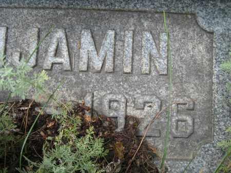 STUMP, BENJAMIN RIGHT SIDE OF DATE - Columbiana County, Ohio   BENJAMIN RIGHT SIDE OF DATE STUMP - Ohio Gravestone Photos