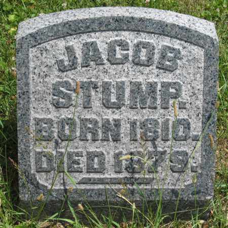 STUMP, JACOB - Columbiana County, Ohio | JACOB STUMP - Ohio Gravestone Photos