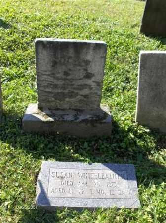 SUSANNA, WHITELEATHER - Columbiana County, Ohio   WHITELEATHER SUSANNA - Ohio Gravestone Photos
