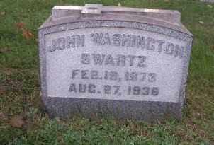 SWARTZ, JOHN WASHINGTON - Columbiana County, Ohio   JOHN WASHINGTON SWARTZ - Ohio Gravestone Photos