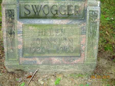 JOHNSTON SWOGGER, HELEN - Columbiana County, Ohio   HELEN JOHNSTON SWOGGER - Ohio Gravestone Photos