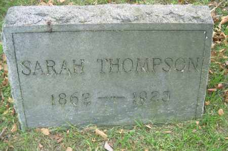 THOMPSON, SARAH - Columbiana County, Ohio | SARAH THOMPSON - Ohio Gravestone Photos