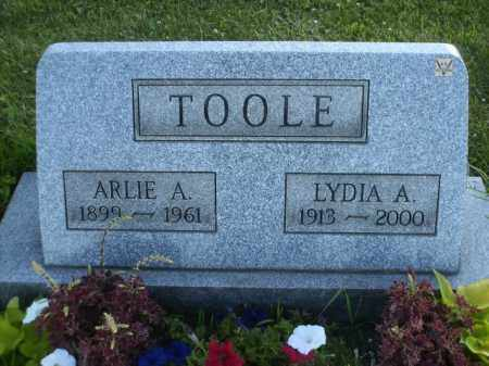 TOOLE, ARLIE ALEXANDER - Columbiana County, Ohio | ARLIE ALEXANDER TOOLE - Ohio Gravestone Photos