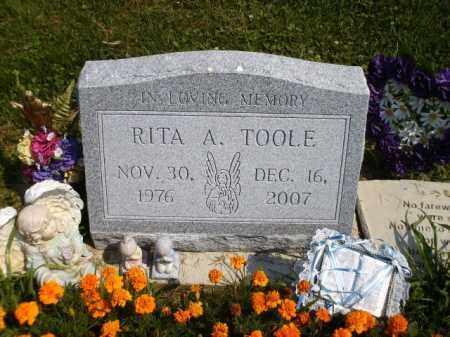 KOROSY TOOLE, RITA ANN IRENE - Columbiana County, Ohio   RITA ANN IRENE KOROSY TOOLE - Ohio Gravestone Photos