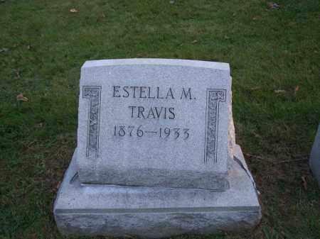TRAVIS, ESTELLA M. - Columbiana County, Ohio | ESTELLA M. TRAVIS - Ohio Gravestone Photos