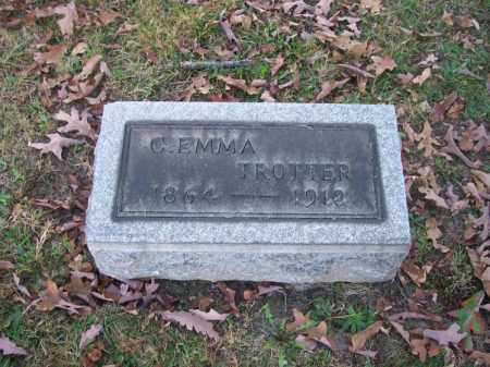 TROTTER, C. EMMA - Columbiana County, Ohio | C. EMMA TROTTER - Ohio Gravestone Photos
