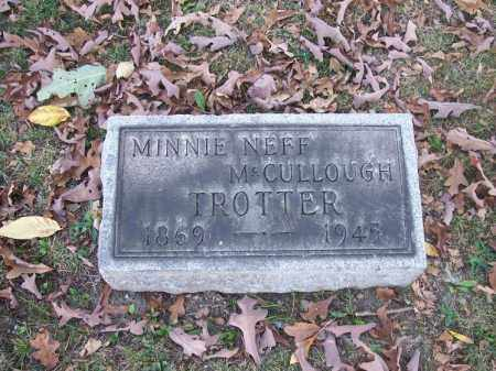 TROTTER, MINNIE NEFF MCCULLOUGH - Columbiana County, Ohio | MINNIE NEFF MCCULLOUGH TROTTER - Ohio Gravestone Photos