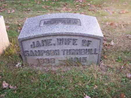 TURNBULL, JANE - Columbiana County, Ohio | JANE TURNBULL - Ohio Gravestone Photos