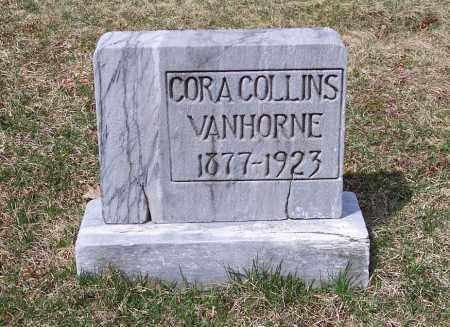 VANHORNE, CORA COLLINS - Columbiana County, Ohio   CORA COLLINS VANHORNE - Ohio Gravestone Photos