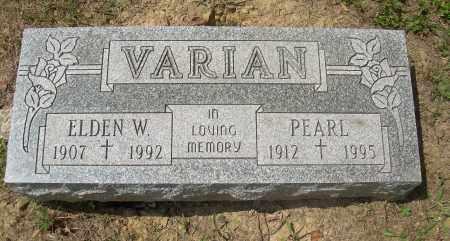 VARIAN, ELDEN W - Columbiana County, Ohio | ELDEN W VARIAN - Ohio Gravestone Photos