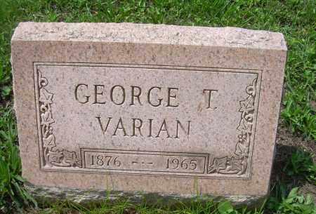 VARIAN, GEORGE T - Columbiana County, Ohio | GEORGE T VARIAN - Ohio Gravestone Photos