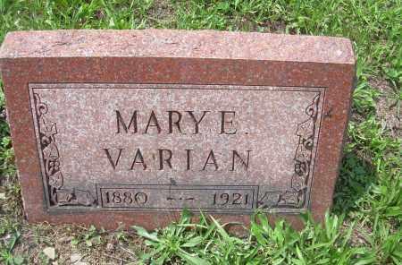 VARIAN, MARY E - Columbiana County, Ohio | MARY E VARIAN - Ohio Gravestone Photos
