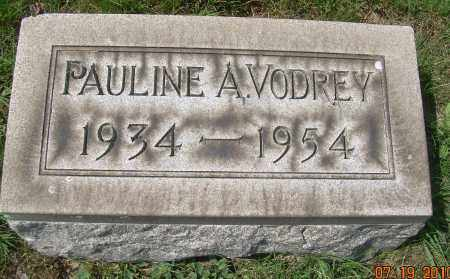 VODREY, PAULINE A - Columbiana County, Ohio   PAULINE A VODREY - Ohio Gravestone Photos