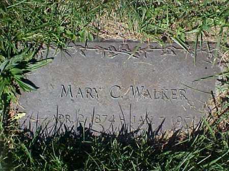 WALKER, MARY C - Columbiana County, Ohio | MARY C WALKER - Ohio Gravestone Photos