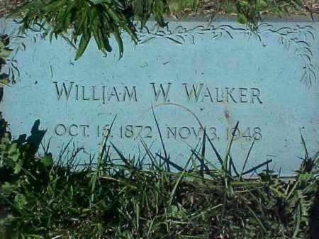WALKER, WILLIAM W - Columbiana County, Ohio   WILLIAM W WALKER - Ohio Gravestone Photos