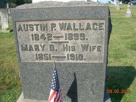 WALLACE, MARY D - Columbiana County, Ohio | MARY D WALLACE - Ohio Gravestone Photos