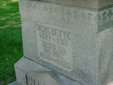 WALTER, BENEZETTE - Columbiana County, Ohio | BENEZETTE WALTER - Ohio Gravestone Photos