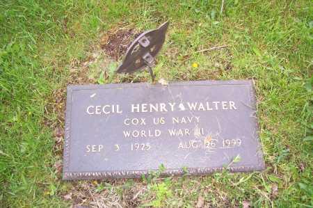 WALTER, CECIL - Columbiana County, Ohio   CECIL WALTER - Ohio Gravestone Photos