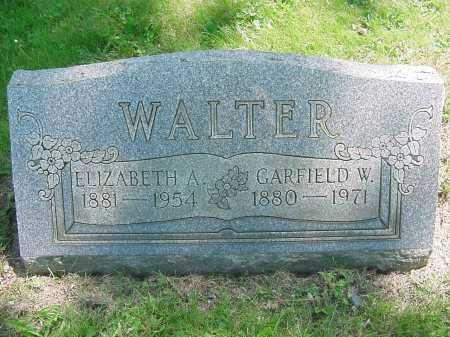 WALTER, GARFIELD - Columbiana County, Ohio | GARFIELD WALTER - Ohio Gravestone Photos