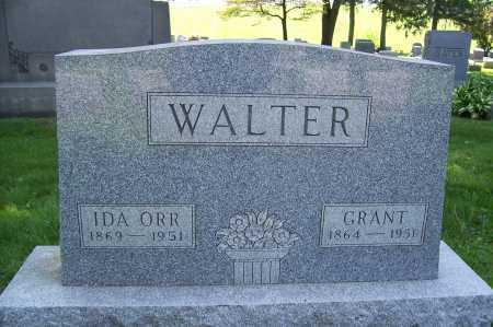 ORR WALTER, IDA - Columbiana County, Ohio | IDA ORR WALTER - Ohio Gravestone Photos