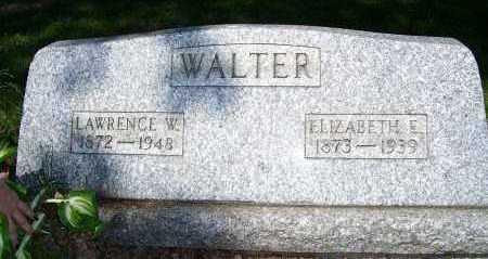 WALTER, ELIZABETH - Columbiana County, Ohio | ELIZABETH WALTER - Ohio Gravestone Photos