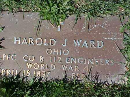 WARD, HOWARD J - Columbiana County, Ohio   HOWARD J WARD - Ohio Gravestone Photos