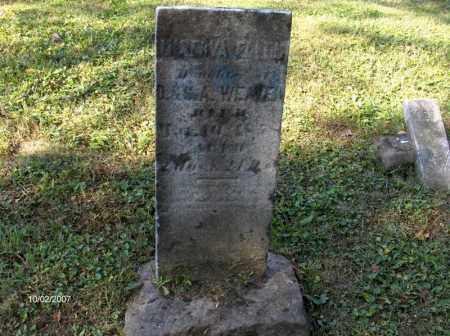 ELLEN WEAVER, MINERVA - Columbiana County, Ohio | MINERVA ELLEN WEAVER - Ohio Gravestone Photos