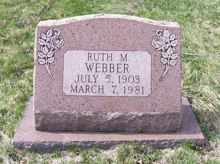 WEBBER, RUTH M. - Columbiana County, Ohio   RUTH M. WEBBER - Ohio Gravestone Photos