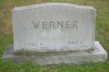 WERNER, CARL A - Columbiana County, Ohio | CARL A WERNER - Ohio Gravestone Photos