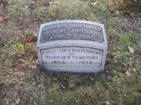 WHITAKER, MICHAEL - Columbiana County, Ohio | MICHAEL WHITAKER - Ohio Gravestone Photos