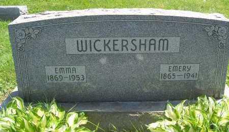 WICKERSHAM, WILLIAM EMERY - Columbiana County, Ohio   WILLIAM EMERY WICKERSHAM - Ohio Gravestone Photos