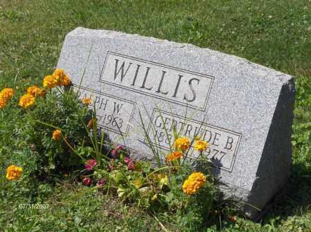 WILLIS, RALPH WALDO EMERSON - Columbiana County, Ohio | RALPH WALDO EMERSON WILLIS - Ohio Gravestone Photos