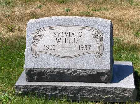 WILLIS, SYLVIA C - Columbiana County, Ohio | SYLVIA C WILLIS - Ohio Gravestone Photos
