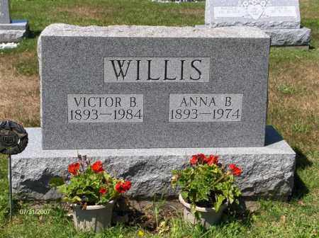 WILLIS, ANNA - Columbiana County, Ohio | ANNA WILLIS - Ohio Gravestone Photos