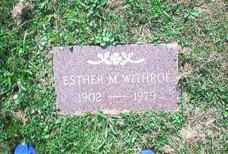 WITHROE, ESTHER - Columbiana County, Ohio | ESTHER WITHROE - Ohio Gravestone Photos