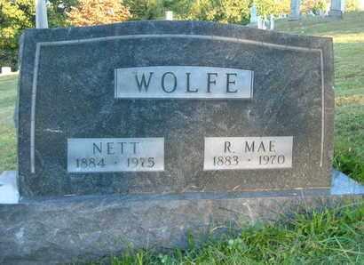 WATSON WOLFE, ROXIE MAE - Columbiana County, Ohio | ROXIE MAE WATSON WOLFE - Ohio Gravestone Photos