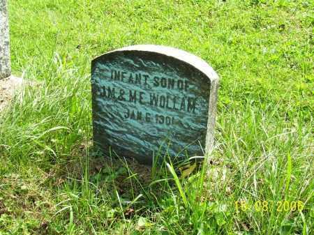 WOLLAM, INFANT - Columbiana County, Ohio | INFANT WOLLAM - Ohio Gravestone Photos