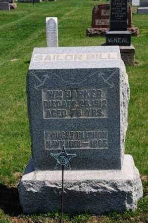 BARKER, WILLIAM - Coshocton County, Ohio   WILLIAM BARKER - Ohio Gravestone Photos