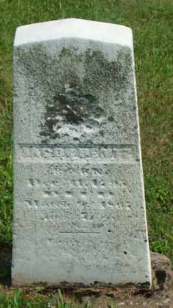 BENTZ, JACOB - Coshocton County, Ohio | JACOB BENTZ - Ohio Gravestone Photos