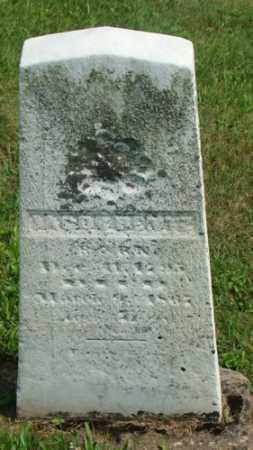 BENTZ, JACOB - Coshocton County, Ohio | JACOB BENTZ - Ohio Gravestone Photos